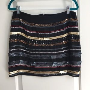 Rock & Republic Sequins Skirt Size 10